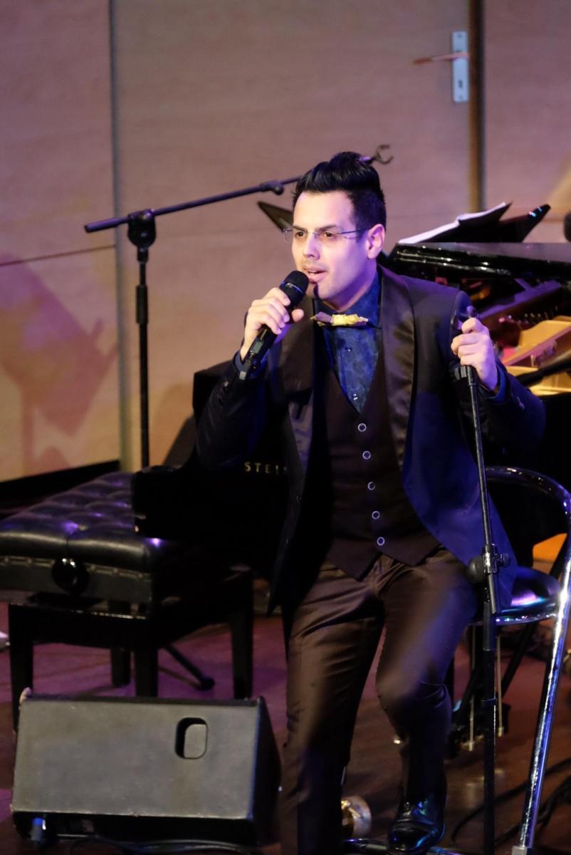 Mariano Speranza, singer, tango, concert